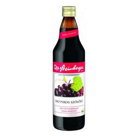 Dr. Steinberger Bio piros szőlőlé 750 ml - Étel-ital, Ital, Zöldség és gyümölcslé