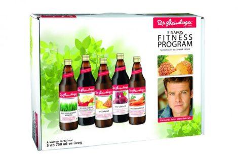 Dr. Steinberger 5 napos fitness program 5x750 ml - Étel-ital, Ital, Zöldség és gyümölcslé