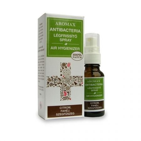 Aromax AntiBacteria légfrissítő spray citrom-fahéj-szegfűszeg 20ml