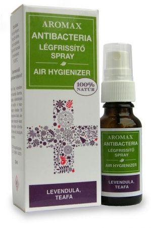 Aromax AntiBacteria légfrissítő spray levendula-teafa 20ml