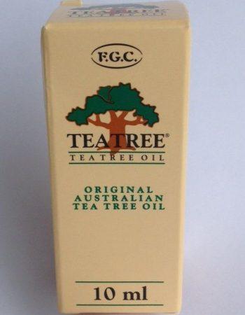 F.G.C. Teatree ausztrál teafa illóolaj 10 ml         - Alternatív gyógymód, Aromaterápia