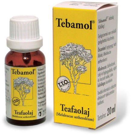 Tebamol Teafaolaj 20ml - Alternatív gyógymód, Aromaterápia