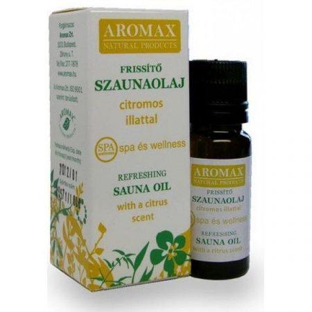 Aromax Szaunaolaj frissítő 10 ml - Alternatív gyógymód, Aromaterápia