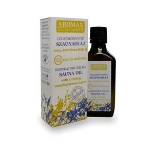 Aromax Szaunaolaj légzéskönnyítő 50 ml - Alternatív gyógymód, Aromaterápia