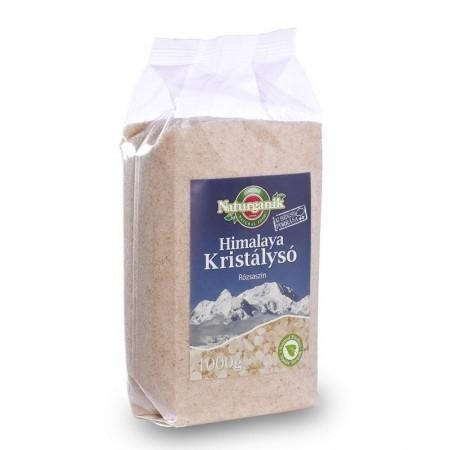 Naturganik Himalaya só rózsaszín 1000 g - Étel-ital, Fűszer, ételízesítő, Só