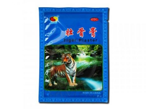 Big Star Tigris tapasz 6 db - Sport, fitnesz, wellness, Sérülés, bemelegítés, regenerálódás