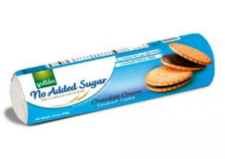 Gullón Szendvicskeksz étcsokoládéval töltve édesítőszerrel 250g