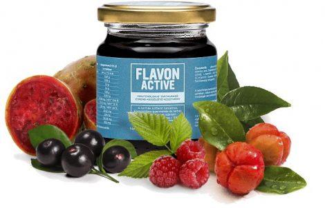 Flavon Active polifenol tartalmú étrend-kiegészítő 240g - Étrend-kiegészítő, vitamin, FLAVON