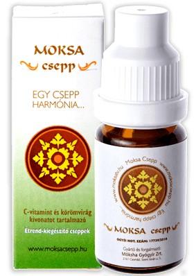 Moksa Csepp 10ml - Étrend-kiegészítő, vitamin, Immunerősítés, roborálás