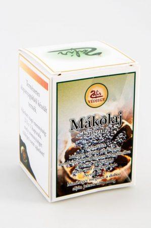 Zafír Mákolaj kapszula 60 db - Étrend-kiegészítő, vitamin, Gyógynövény készítmény