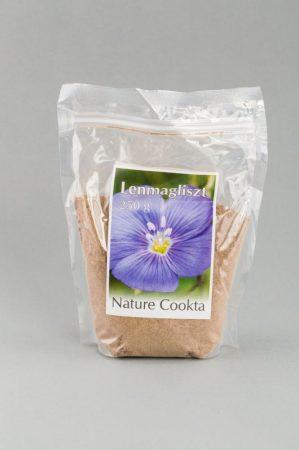 Nature Cookta Lenmagliszt 250 g - Étel-ital, Liszt