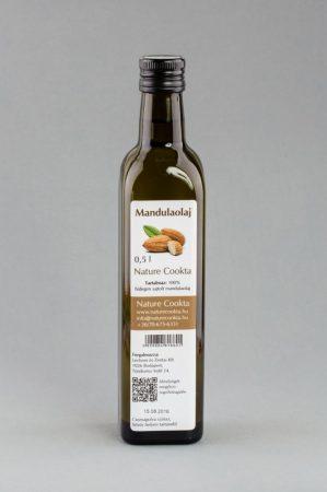 Nature Cookta Mandulaolaj 500 ml - Étel-ital, Olaj, zsiradék, Egyéb olaj