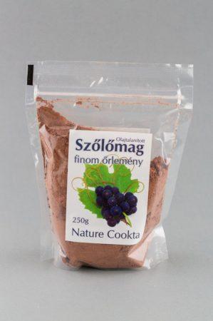 Nature Cookta Szőlőmag finom-őrlemény 250 g - Étel-ital, Liszt