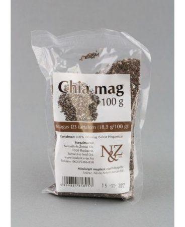 Chia mag (Németh és Zentai) 100 g - Étel-ital, Superfood, funkcionális élelmiszer