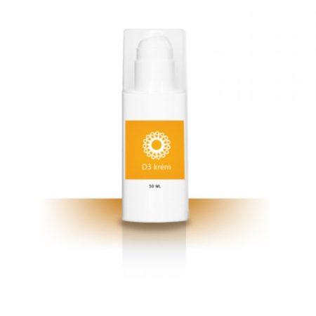 D3-vitamin krém 50 ml - Étrend-kiegészítő, vitamin, D, A, E, K-vitamin