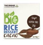 The Bridge Bio Rizs desszert kakaós 4x110 g