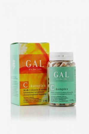 GAL C-Komplex, 1333 mg C-vitamin x 45 adag (90 kapszula) - Étrend-kiegészítő, vitamin, C-vitamin