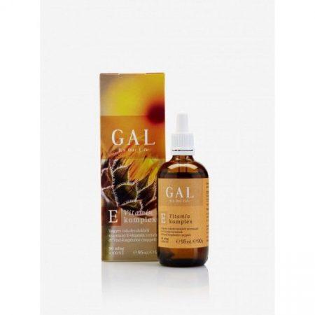 GAL E-vitamin 100 NE x 90 adag 95 ml  - Étrend-kiegészítő, vitamin, D, A, E, K-vitamin