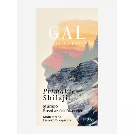GAL PrimaVie® Shilajit (Múmijó) 60 db - Étrend-kiegészítő, vitamin, Immunerősítés, roborálás