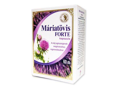 Dr. Chen Máriatövis forte kapszula 60 db - Egészségügyi problémákra ajánlott termék, Emésztés