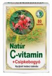 Dr. Chen Natúr C-vitamin+csipkebogyó tabletta 80 db - Étrend-kiegészítő, vitamin, C-vitamin