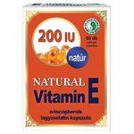 Dr. Chen Natúr E-vitamin 200 mg-os lágyzselatin kapszula 60 db