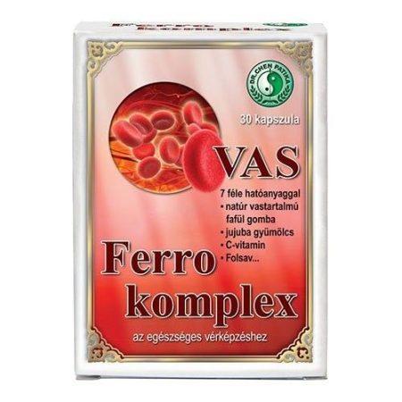Dr. Chen Ferro komplex kapszula vassal 30 db