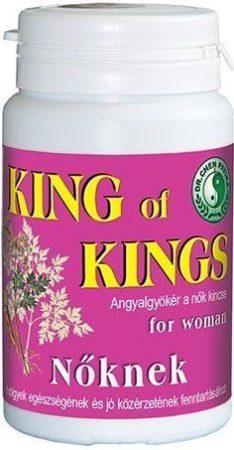 Dr. Chen King of Kings kapszula nőknek 50 db - Étrend-kiegészítő, vitamin, 50+