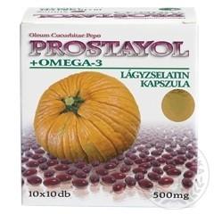 Dr. Chen Prostayol + Omega-3 lágyzselatin kapszula 100 db - Étrend-kiegészítő, vitamin, Húgyutak