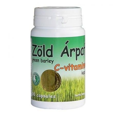 Dr. Chen Zöld árpafű kapszula C-vitaminnal 90 db