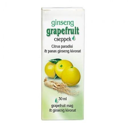 Dr. Chen Grapefruit cseppek ginsenggel 30 ml - Étrend-kiegészítő, vitamin, Immunerősítés, roborálás