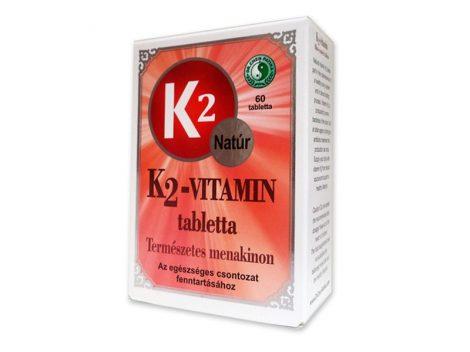 Dr. Chen K2-vitamin filmtabletta 60 db - Étrend-kiegészítő, vitamin, D, A, E, K-vitamin