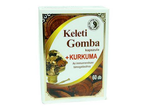 Dr. Chen Keleti gomba kapszula kurkumával 60 db - Étrend-kiegészítő, vitamin, Gyógynövény készítmény