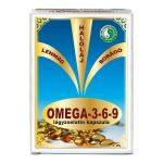 Dr. Chen Omega-3-6-9 lágyzselatin kapszula 30 db - Étrend-kiegészítő, vitamin, Omega 3-6-9