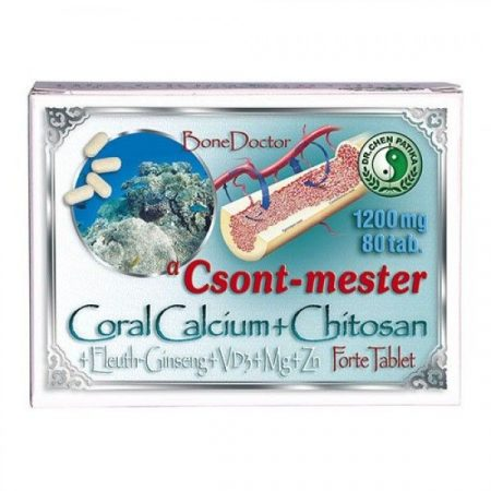 Dr. Chen Csont-mester Coral Calcium Forte tabletta 80 db