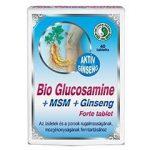 Dr. Chen Bio Glükozamin + MSM + Ginseng Forte tabletta 40 db - Étrend-kiegészítő, vitamin, Ízületek