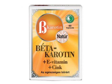 Dr. Chen Béta-karotin + E-vitamin + cink lágyzselatin kapszula 60 db