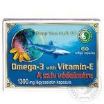 Dr. Chen Omega-3 lágyzselatin kapszula E-vitaminnal 1300 mg 60 db
