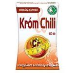 Dr. Chen Króm és chili kapszula 60 db
