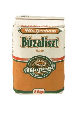 Biopont Bio Graham búzaliszt GL-200 1000 g - Étel-ital, Liszt