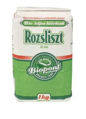 Biopont Bio Teljeskiőrlésű rozsliszt 1000 g - Étel-ital, Liszt