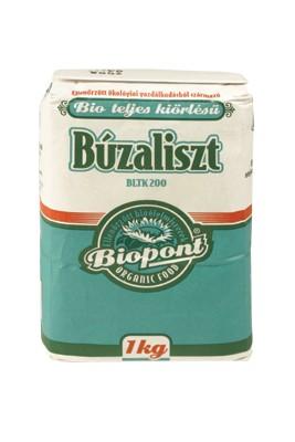 Biopont Bio íteljeskiőrlésű búzaliszt BLTK-200 1000 g - Étel-ital, Liszt