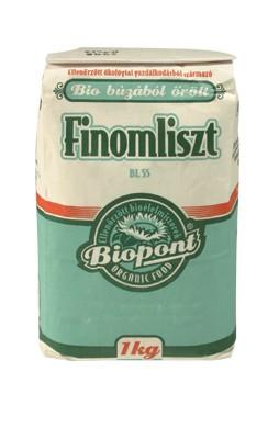 Biopont Bio Fehér búza finomliszt BL-55 1000 g - Étel-ital, Liszt