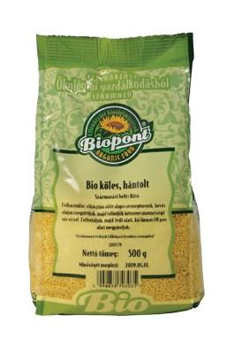 Biopont Bio köles hántolt 500 g - Étel-ital, Gabona, dara, pehely, korpa, Gabona, őrlemény, dara