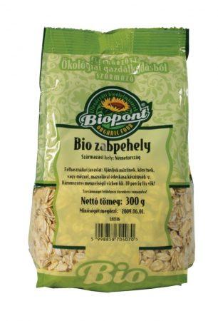 Biopont Bio Zabpehely nagy szemű 300 g - Étel-ital, Gabona, dara, pehely, korpa, Pehely, korpa