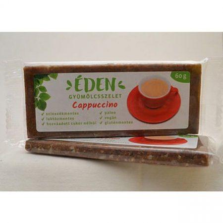 Éden Gyümölcsszelet cappuccino 60g - Étel-ital, Finomság, Csokoládé, müzli- és gyümölcsszelet