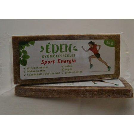 Éden Gyümölcsszelet sport-energia 60g - Étel-ital, Finomság, Csokoládé, müzli- és gyümölcsszelet