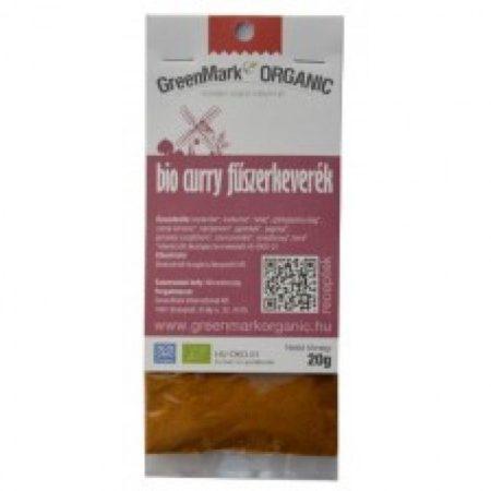 Greenmark Bio Curry fűszerkeverék 20g - Étel-ital, Fűszer, ételízesítő, Fűszer