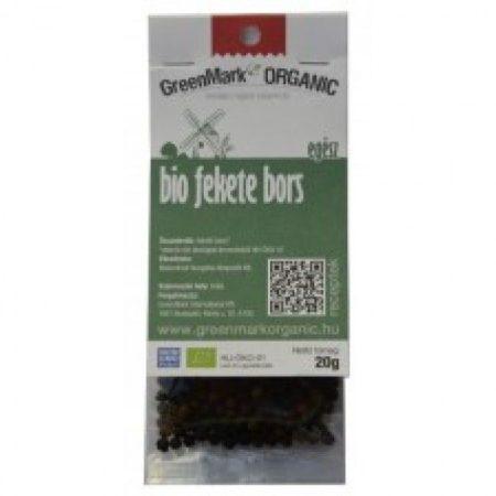 Greenmark Bio Egész fekete bors 10g - Étel-ital, Fűszer, ételízesítő, Fűszer