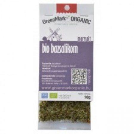 Greenmark Bio morzsolt bazsalikom 10g - Étel-ital, Fűszer, ételízesítő, Fűszer